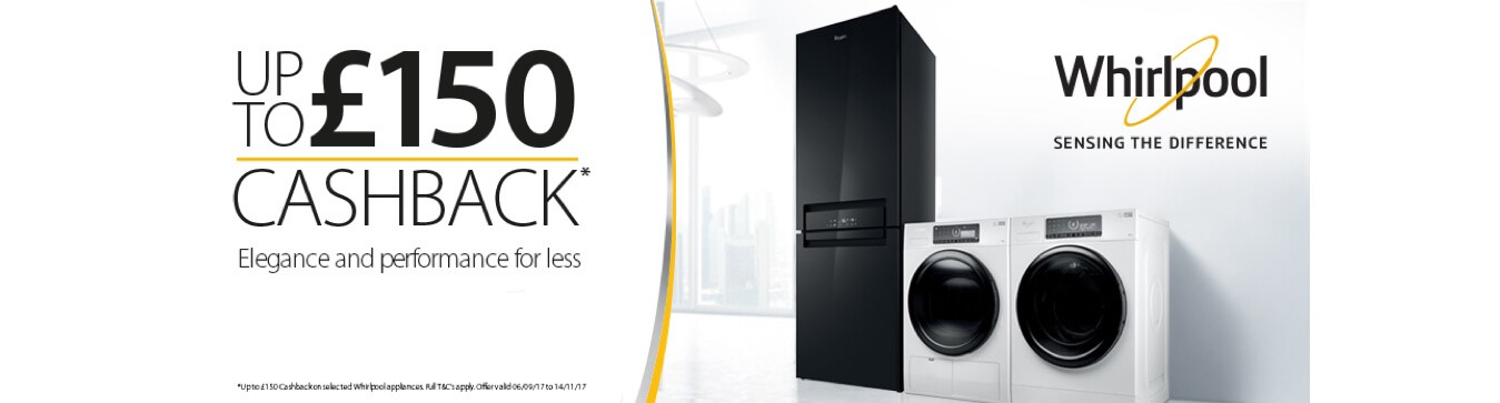 Whirlpool Cashback Offer