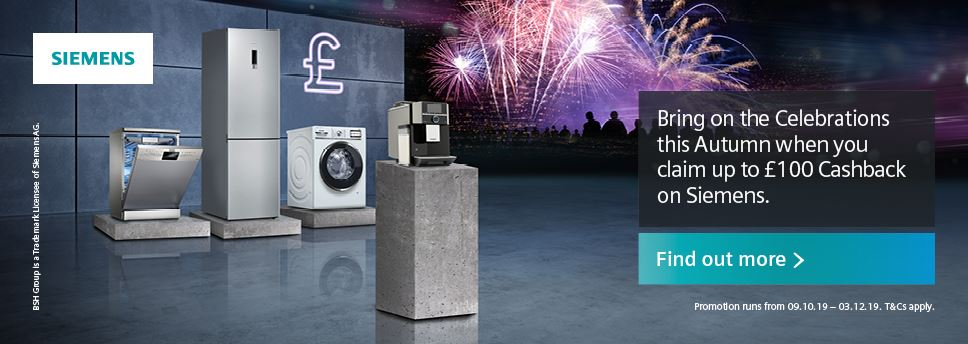 Siemens Cashback Winter 2019