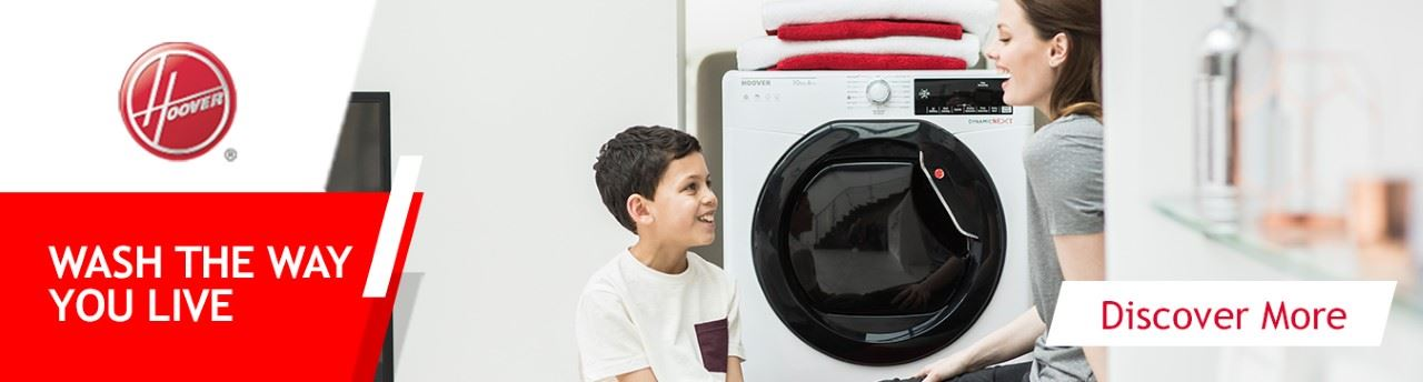 hoover washing machine banner