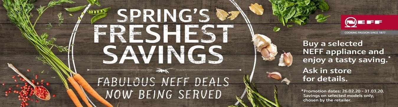 Neff Spring Sale 2020