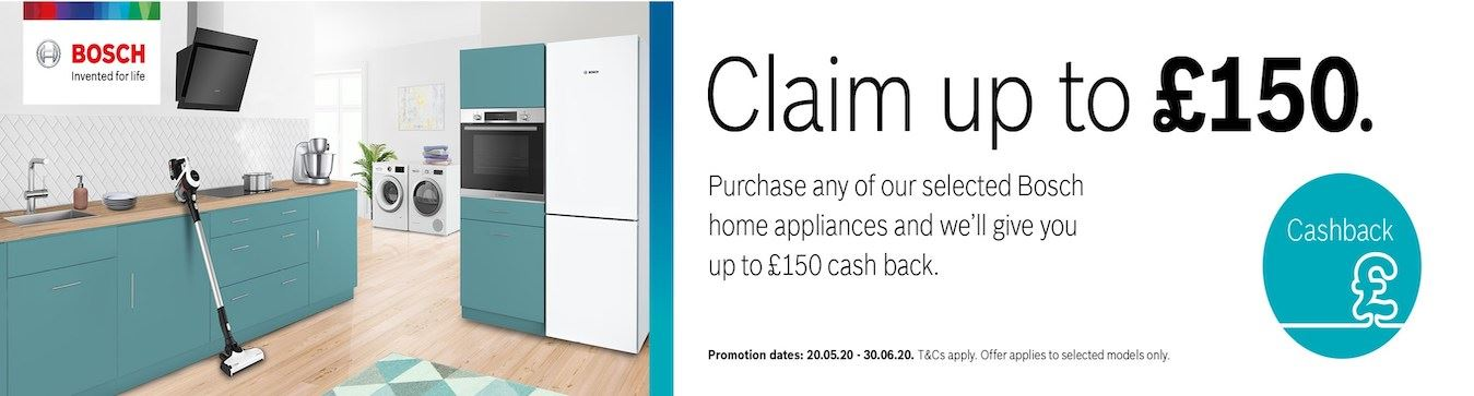 Bosch Cashback May - June 2020