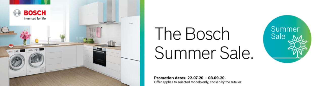 Bosch Summer Sale July - September 2020