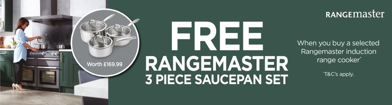 Range Master Free Saucepan set