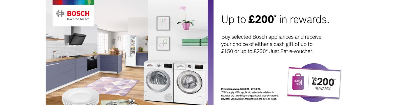 Bosch Cashback October 2020