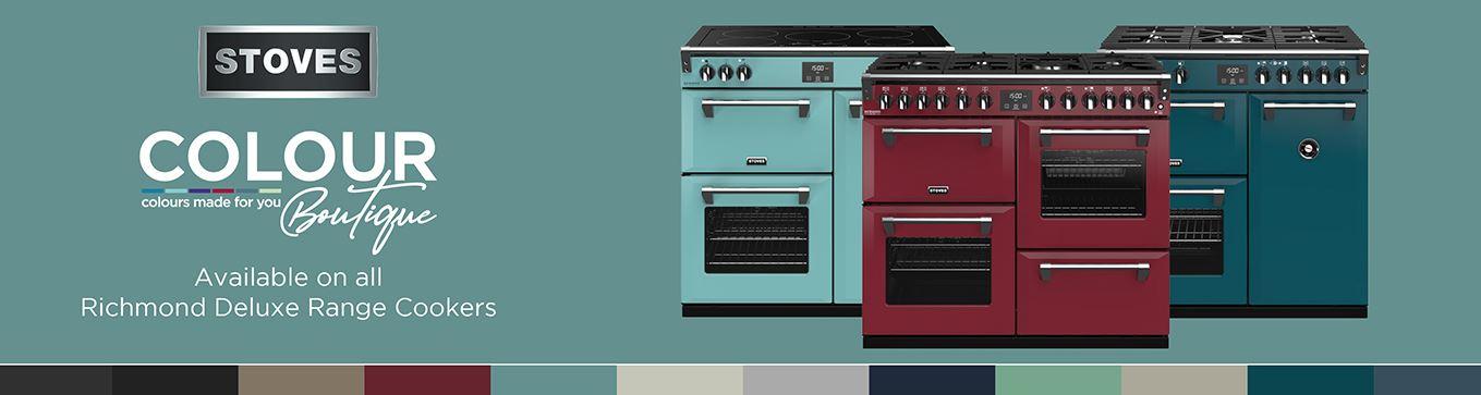 Stoves Colour Boutique Range Cookers