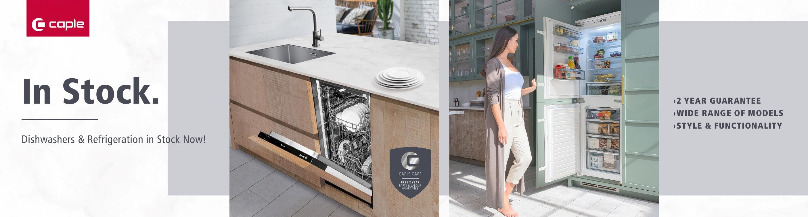 Caple Dishwasher & Refrigeration Banner - June 2021