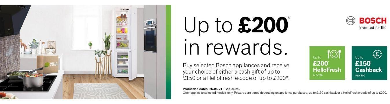 Bosch Cashback June 2021