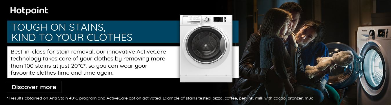 Hotpoint Homepage July 2021