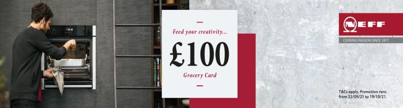 Neff £100 Gift Card Banner Oct