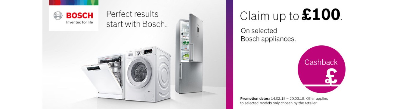Bosch cashback offer