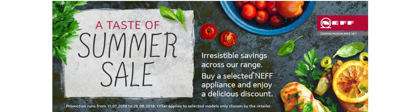 Neff Summer Sale