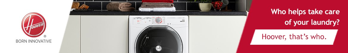 Hoover Washing Machine Banner | Sirius Buying Group