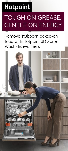hotpoint 3d zone wash dishwasher