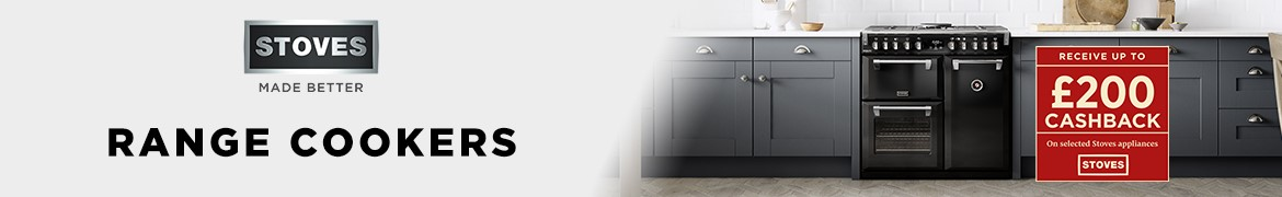 stoves range cookers - up to £200 cashback