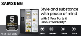 Samsung American Fridge Freezer - Product Listing Top