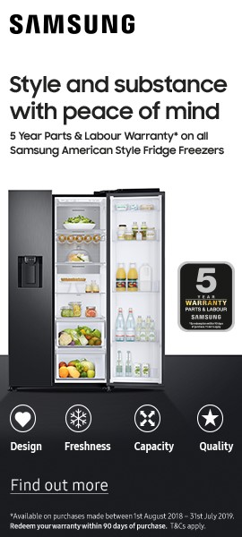 Samsung American Fridge Freezer - Product Listing Bottom