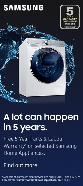 Samsung Washing Machines - Product Listing Bottom