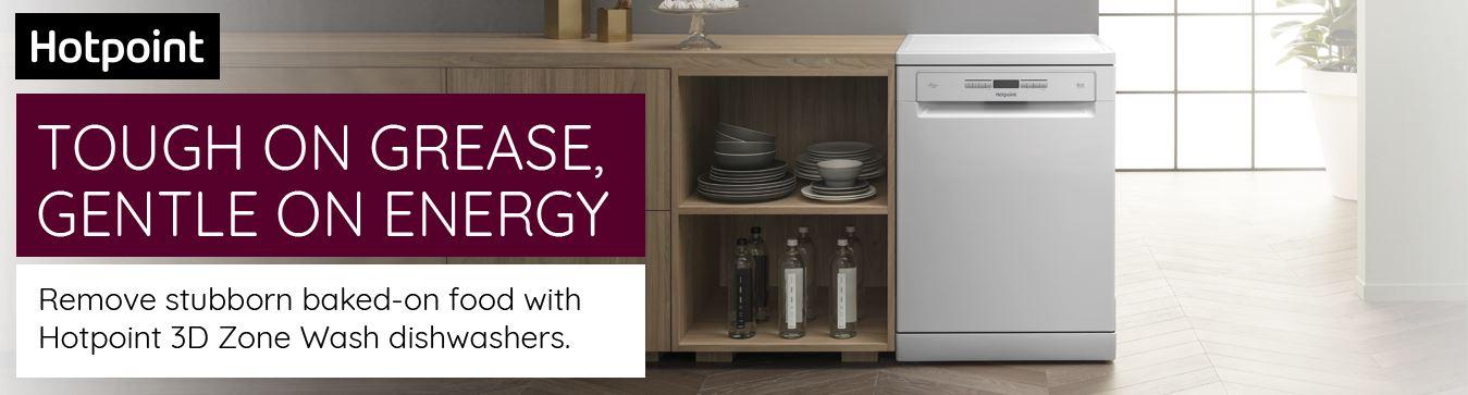 hotpoint dishwasher in kitchen