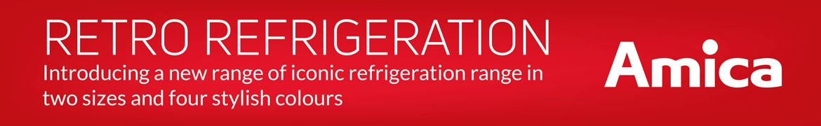 Amica - Refrigeration CAtegory banner