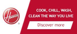 Hoover - Clean the way you live banner