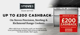Stoves Range Cookers Cashback Promotion