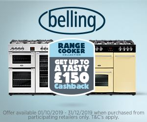 Belling Cashback offer Nov 2019