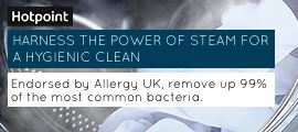 Hotpoint - Steam Hygiene - Product Feed - AF -April