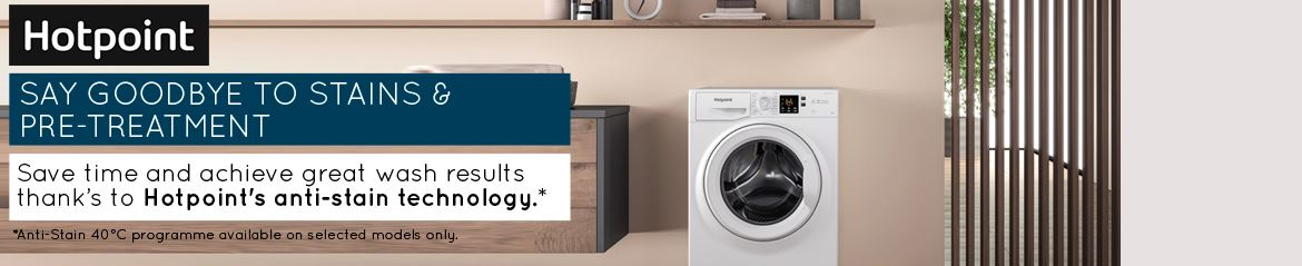 Hotpoint - Laundry - Category - Below - September 2020