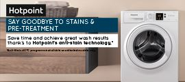 Hotpoint - Laundry - Product Feed - Above - September 2020