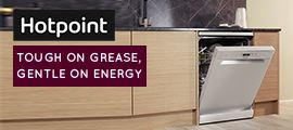 Hotpoint Touch on Grease Gentle on Energy