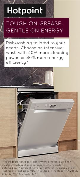 Hotpoint Dishwashers Touch on Grease