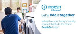 Indesit washing lets do it together