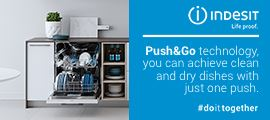 push and go Indesit