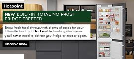 Hotpoint Fridge Freezer June 2021