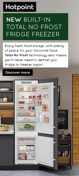 Hotpoint Fridge Freezer Side June 2021