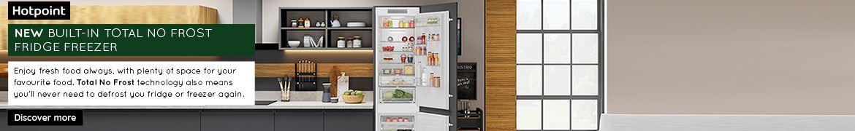 Hotpoint Fridge Freezer Above fold June 2021