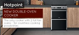 Hotpoint Double oven Cooker 2021