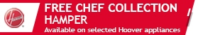 Hoover - Free Chef Collection Hamper