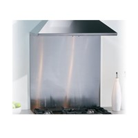 Caple CSB605600mm wide stainless steel splashback