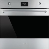 Smeg SFP6372X60cm Classic Stainless Steel and Eclips Glass Pyrolytic Multifunction Oven