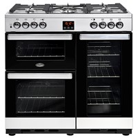 Belling Cookcentre  90DFT Stainless Steel Stoke-on-Trent