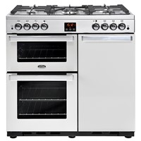 Belling Gouremet 90G in Stainless Steel Bristol