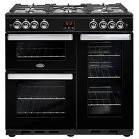 Belling Cookcentre 90G in Black Bristol