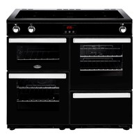 Belling Cookcentre 100EI in Black Exmouth