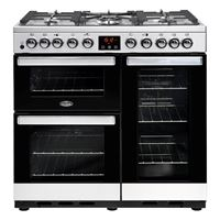 Belling Cookcentre 90DDFT SS / 444444106 Boston