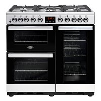Belling Cookcentre 90DDFT in Stainless Steel Luton