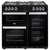 Belling Cookcentre  90DFT Black Stoke-on-Trent
