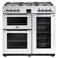 Belling Cookcentre 90G in Professional Stainless Steel. Luton