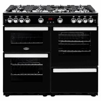 Belling Cookcentre 100G In Black Exmouth