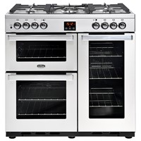 Belling Cookcentre  90DFT Professional Stainless Steel Luton